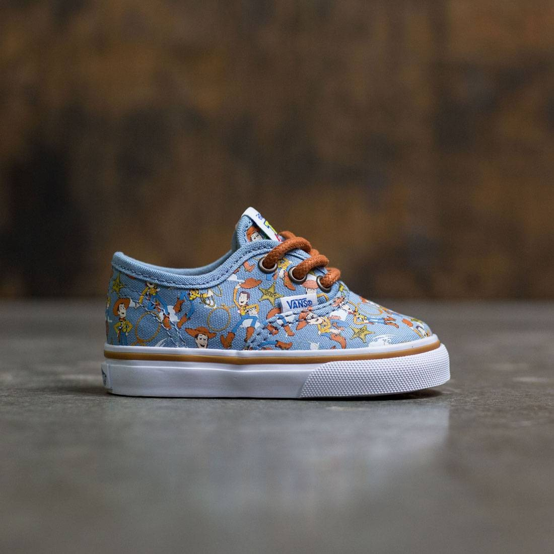 Vans x Disney Pixar Toy Story Toddlers Authentic - Woody (brown / white)