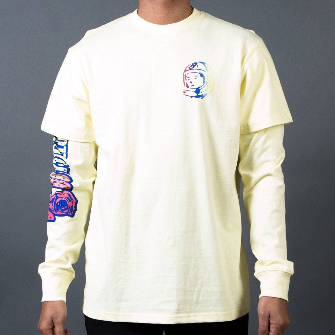 Billionaire Boys Club Men BB End Of Days LS Knit Tee (yellow)
