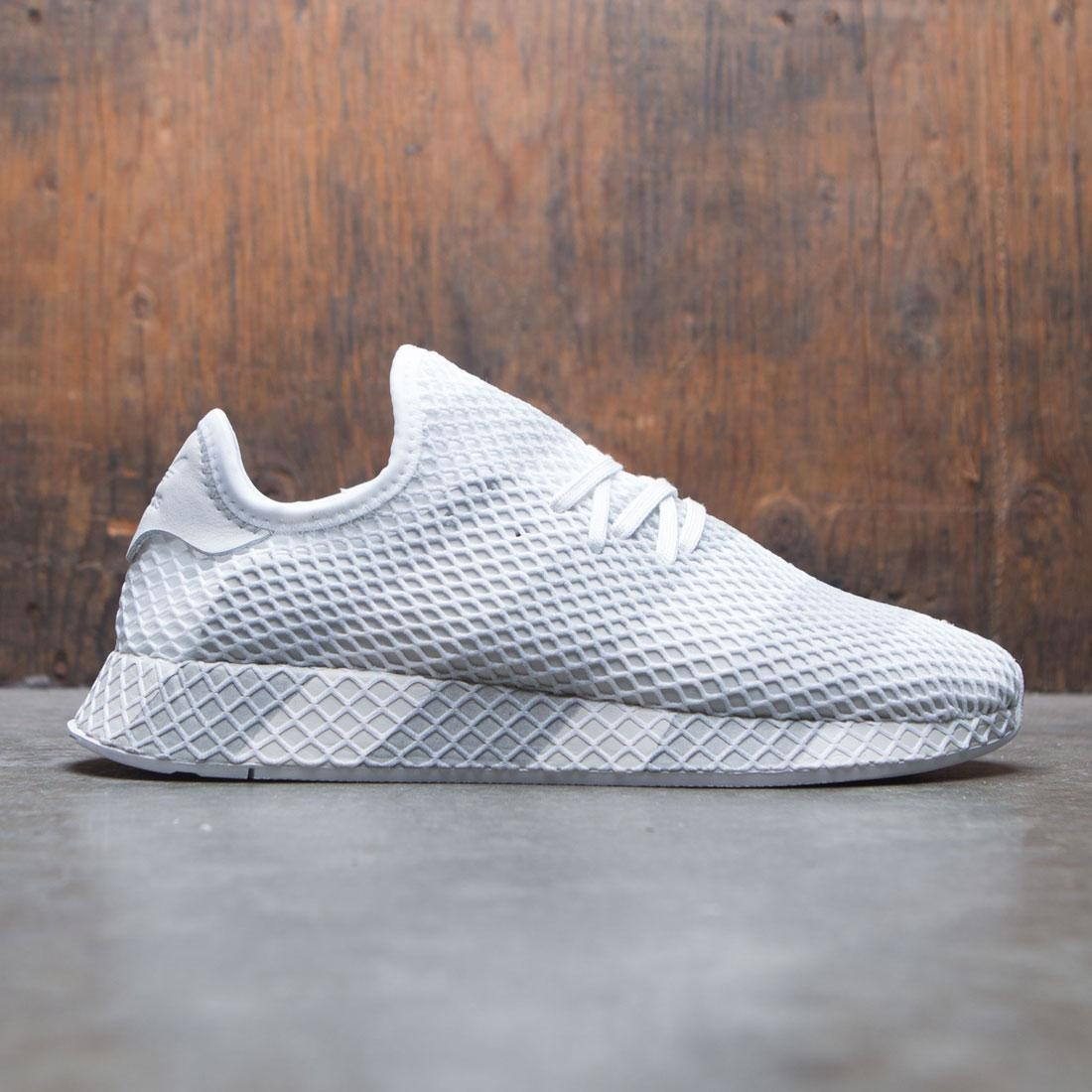 half off 2a052 ef83a Adidas Consortium Men Deerupt white grey