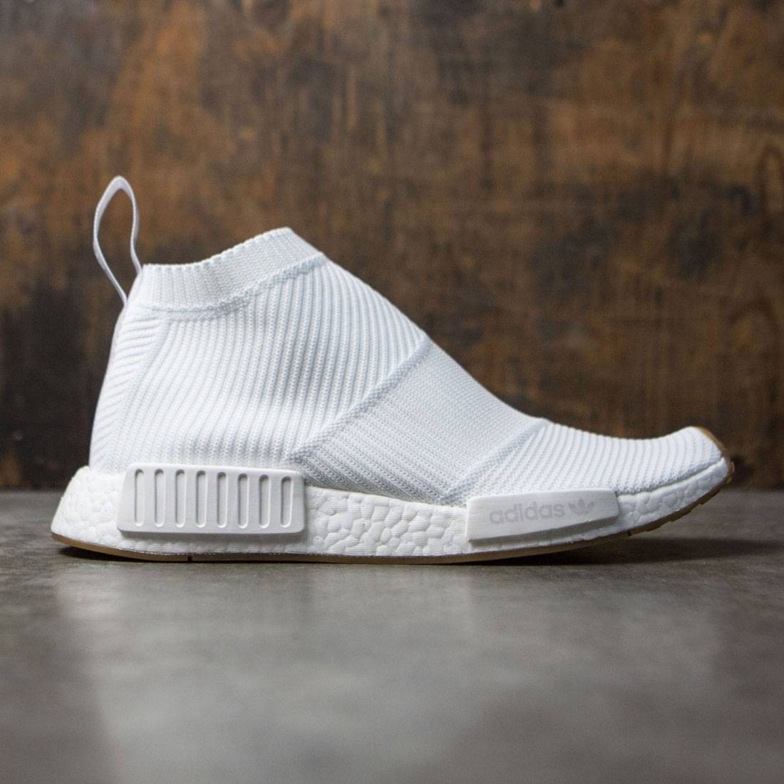 best loved 345ac b427a Adidas Men NMD CS1 Primeknit white footwear white gum