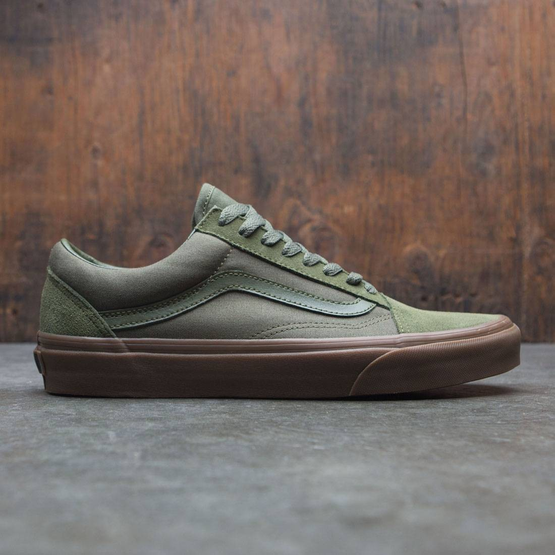 Vans Men Old Skool - Suede green moss gum 6cccc5395