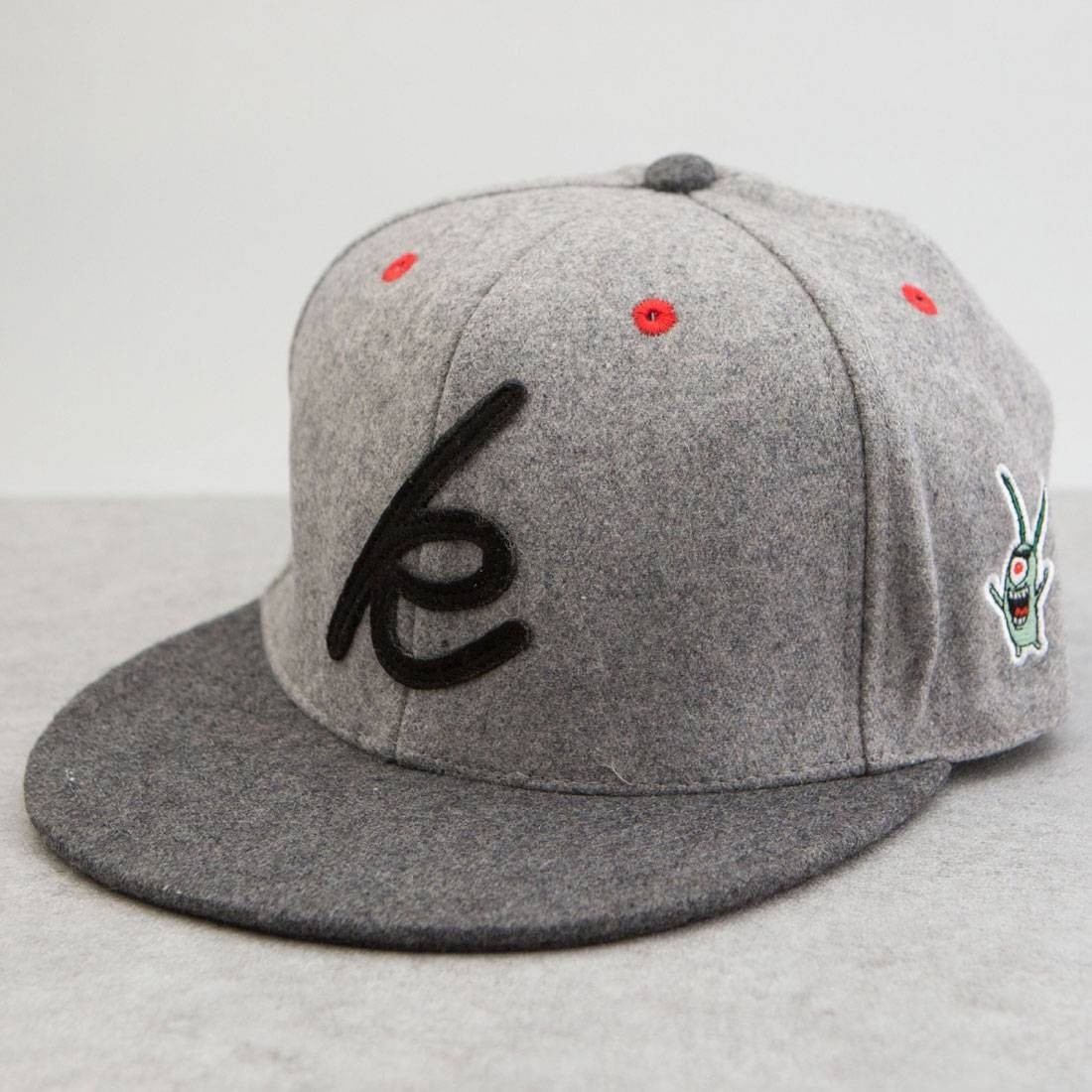BAIT x SpongeBob Mr Krabs Snapback Cap (grey)