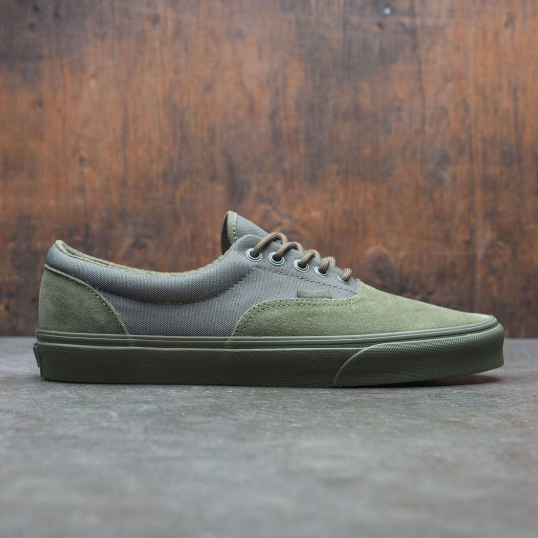 9ef889c4b11909 Vans Men Era - Military Mono green winter moss