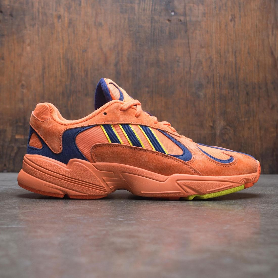 the best attitude recognized brands biggest discount Adidas Men Yung-1 (orange / hi-res orange / shock yellow)