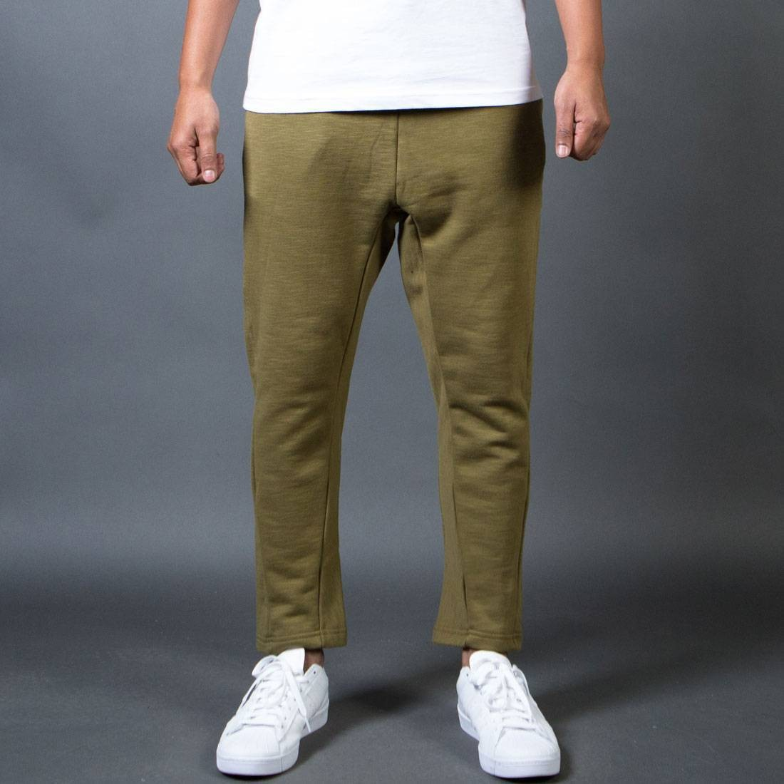 BAIT Men French Terry Japan Pants - Made In LA (olive)