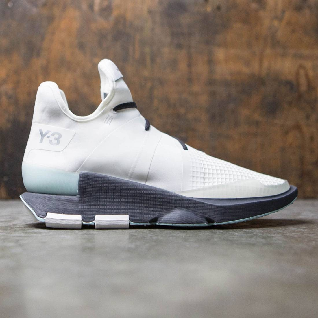 Adidas Y-3 Men Noci Low (white / crystal white / utility black)