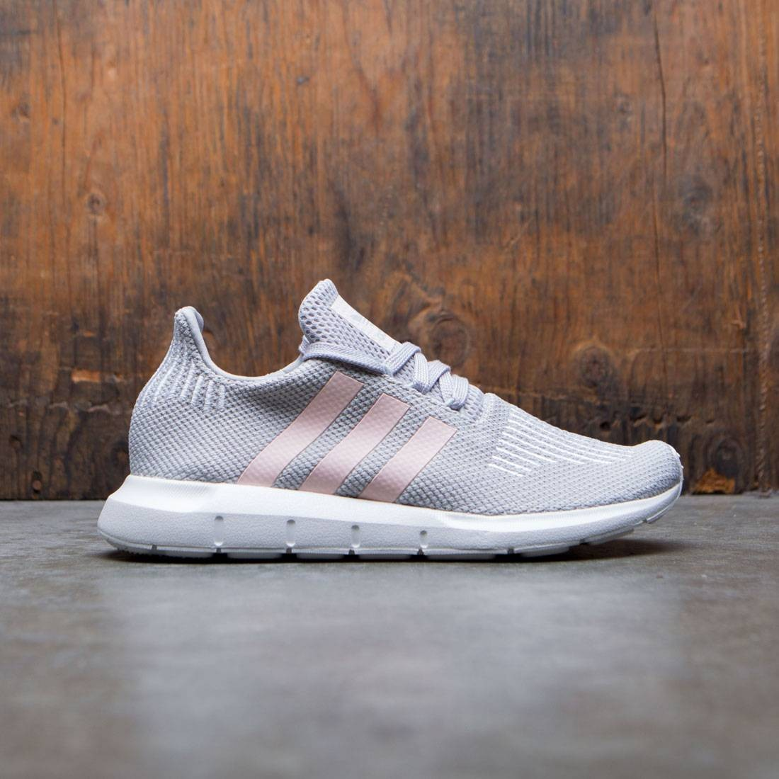 180db5f6a7a Adidas Women Swift Run W gray icey pink footwear white