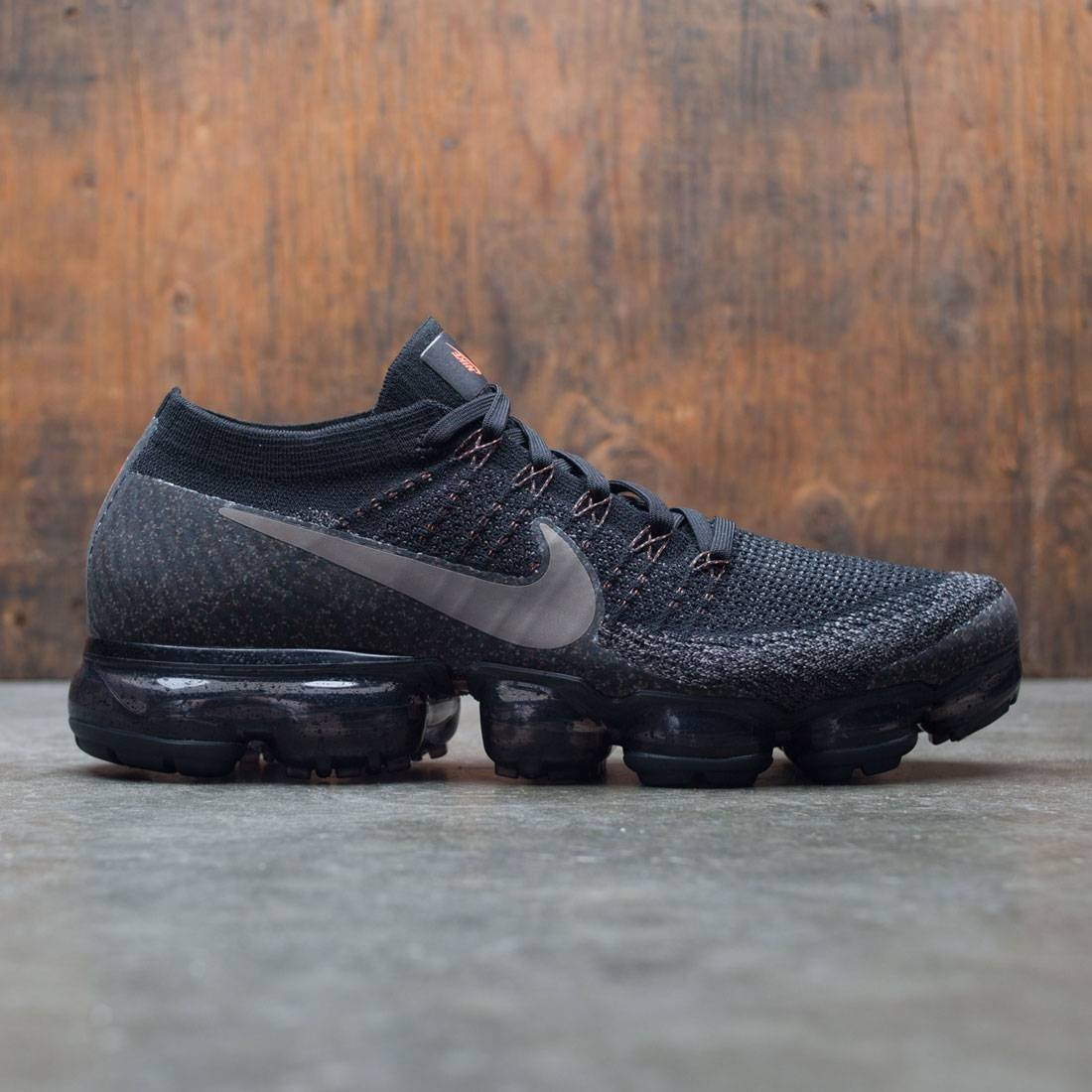 nike men nikelab air vapormax flyknit running black dark mushroom midnight  fog d0f3a6458