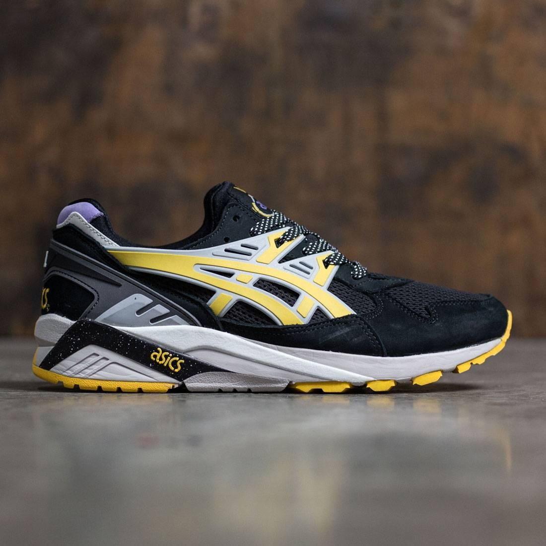 555ffca30550 Asics x Sneaker Freaker Men Gel-Kayano Trainer - Melvin black yellow