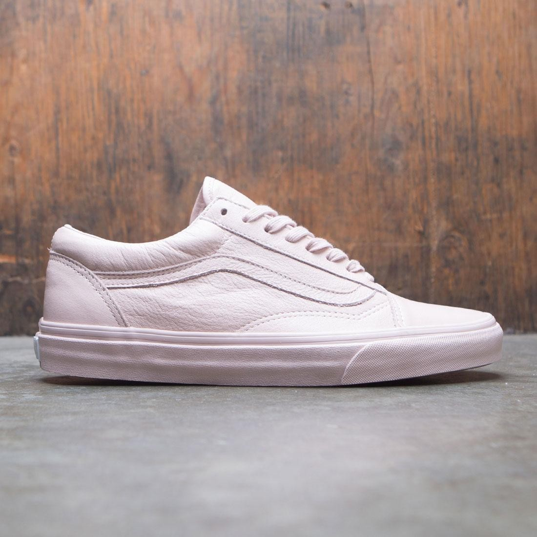 3c97ee2e6ada Vans Men Old Skool - Leather pink sepia rose