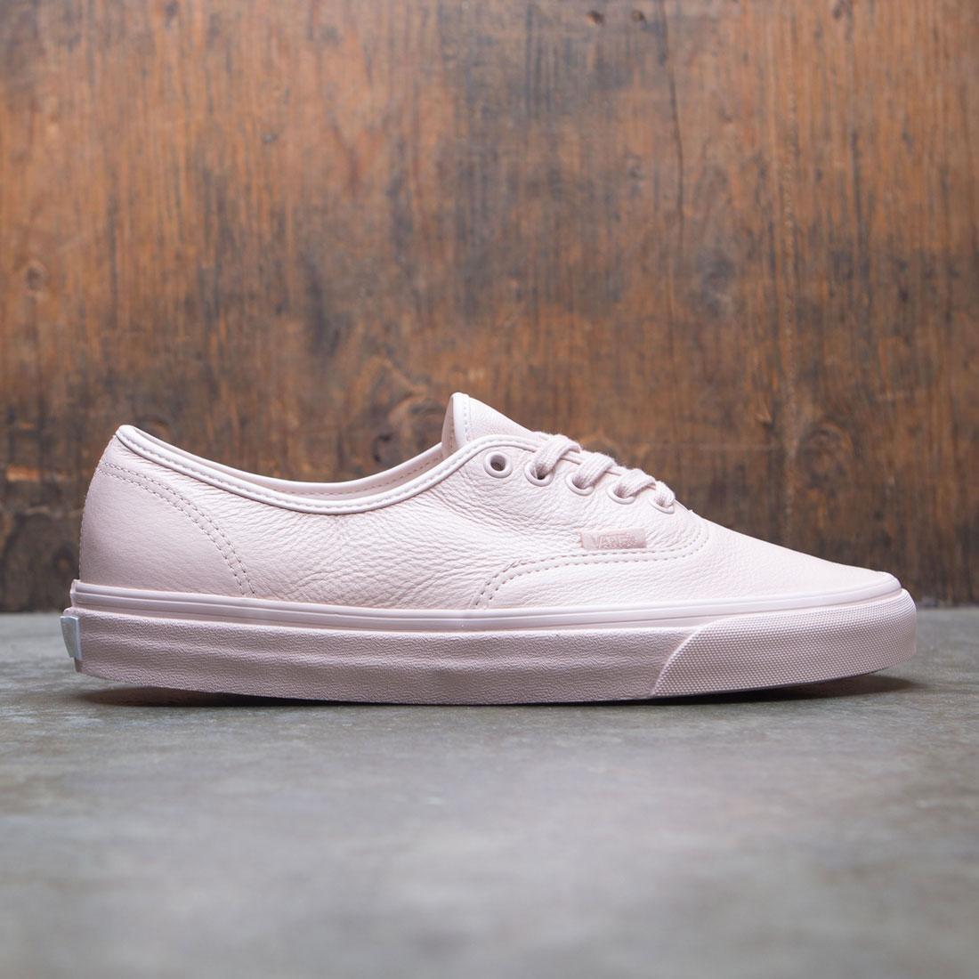 Vans Men Authentic Leather - Mono (pink / sepia rose)