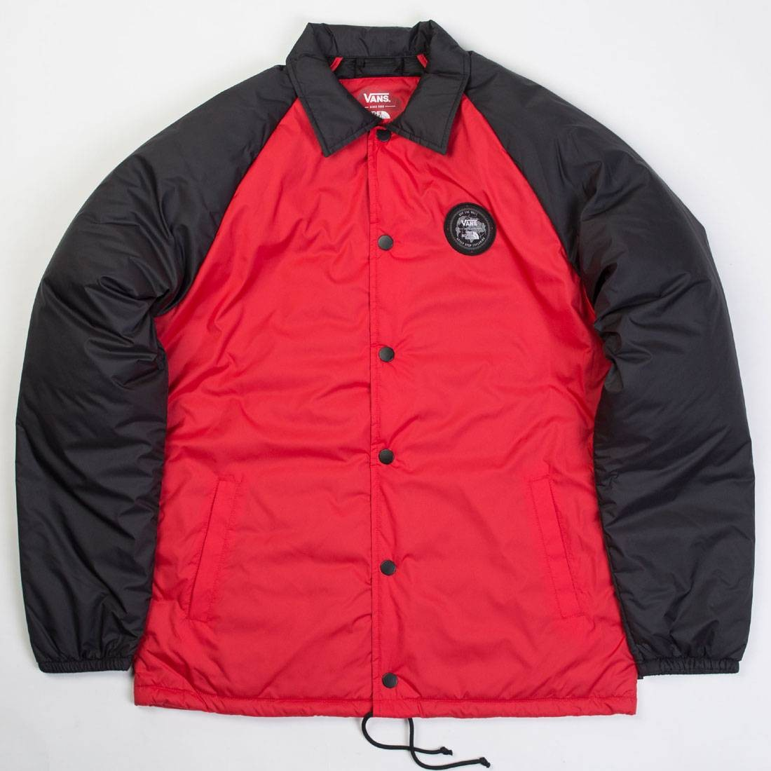 Vans X The North Face Men Torrey Jacket Red Black