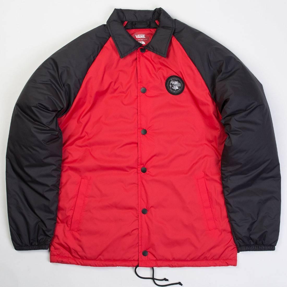 Vans x The North Face Men Torrey Jacket (red / black)