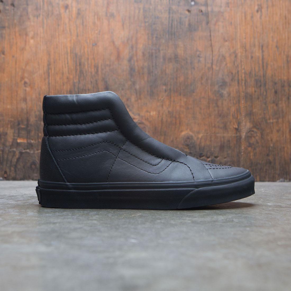 Vans Women SK8-Hi Reissue Laceless Leather black e2d92660c47e