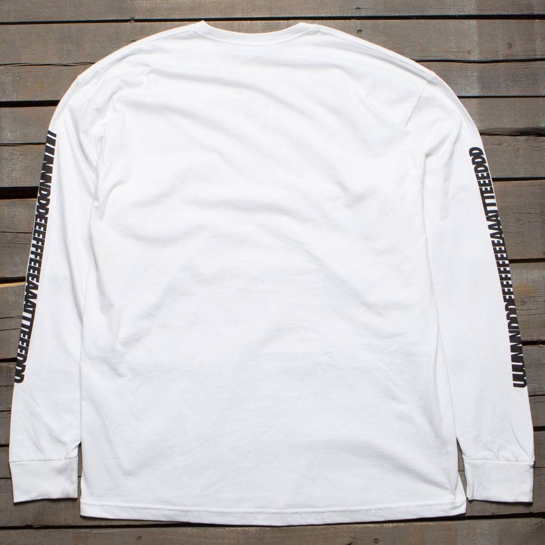 Undefeated Men UUUNNNDDD Long Sleeve Tee (white)