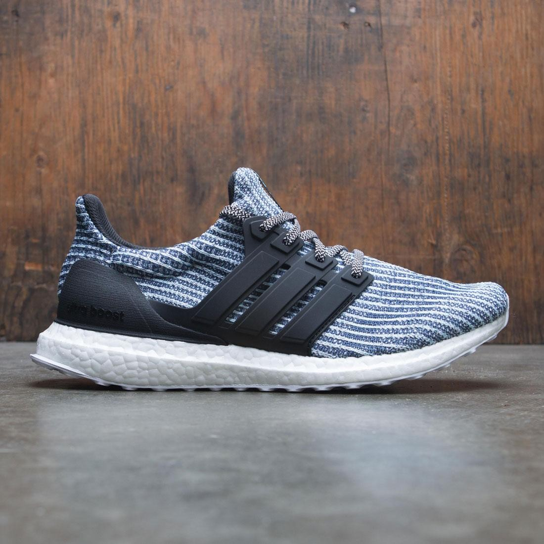 44d87c27c Adidas Men UltraBOOST Parley white carbon blue spirit