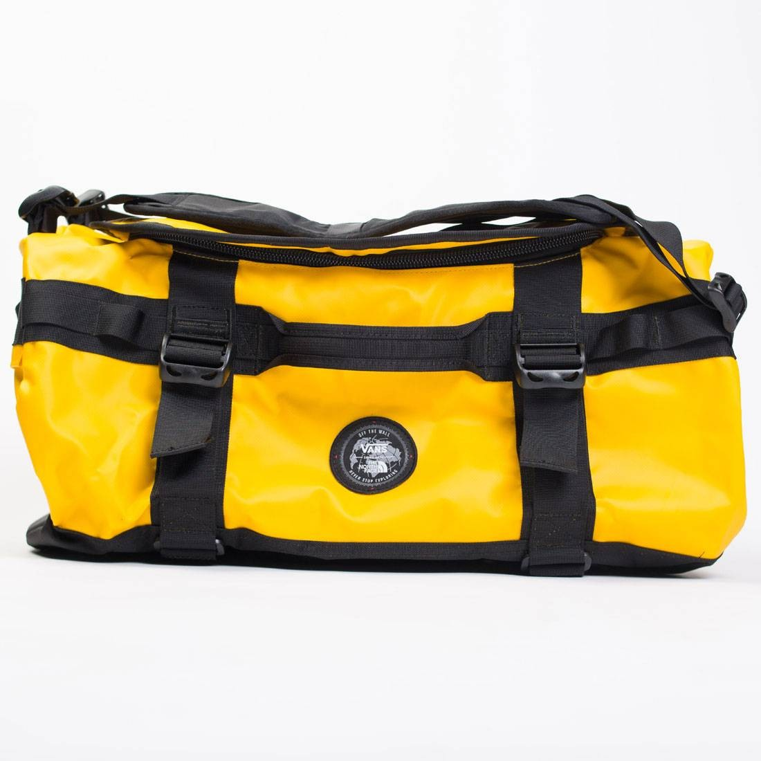 984bd2f241 Vans x The North Face Base Camp Duffel Bag yellow