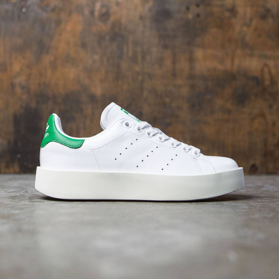 100% authentic cde5d 64aad Adidas Women Stan Smith Bold (white / footwear white / green)