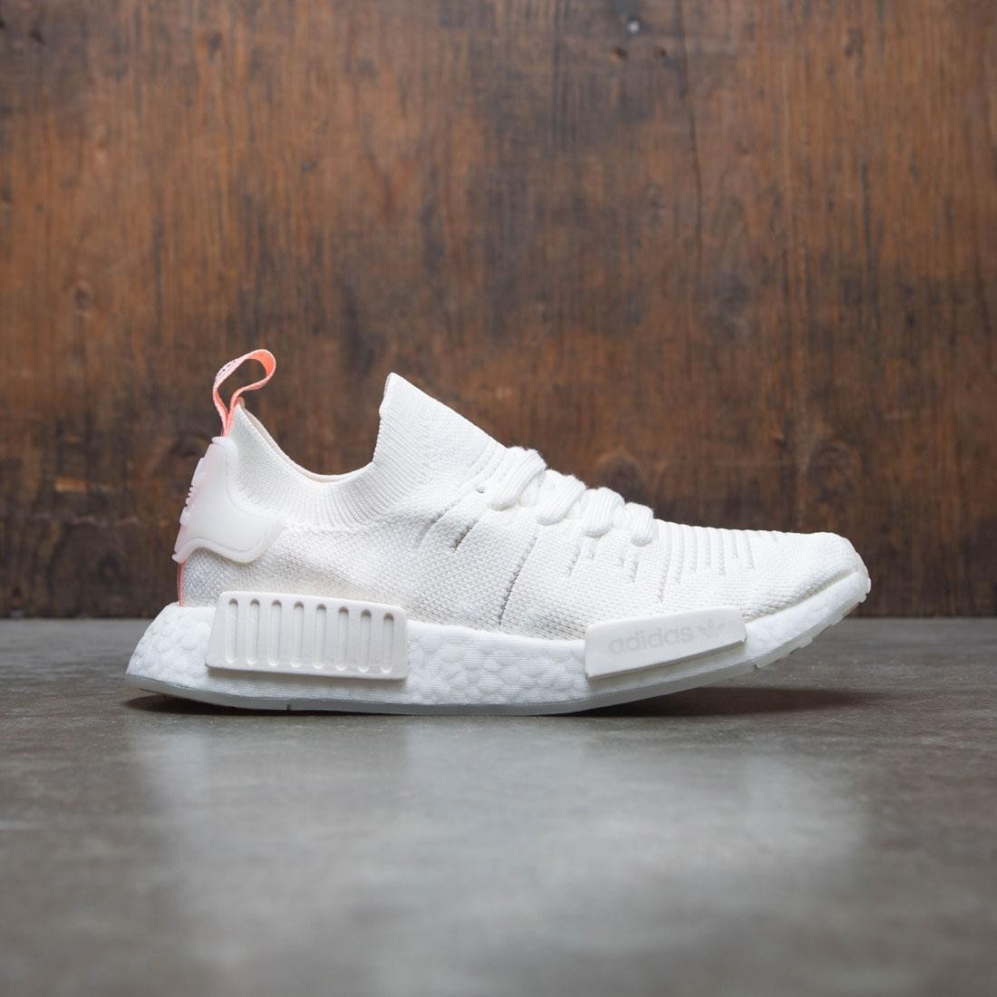 6959d965eed06 Adidas Women NMD R1 STLT PK W white cloud white clear orange
