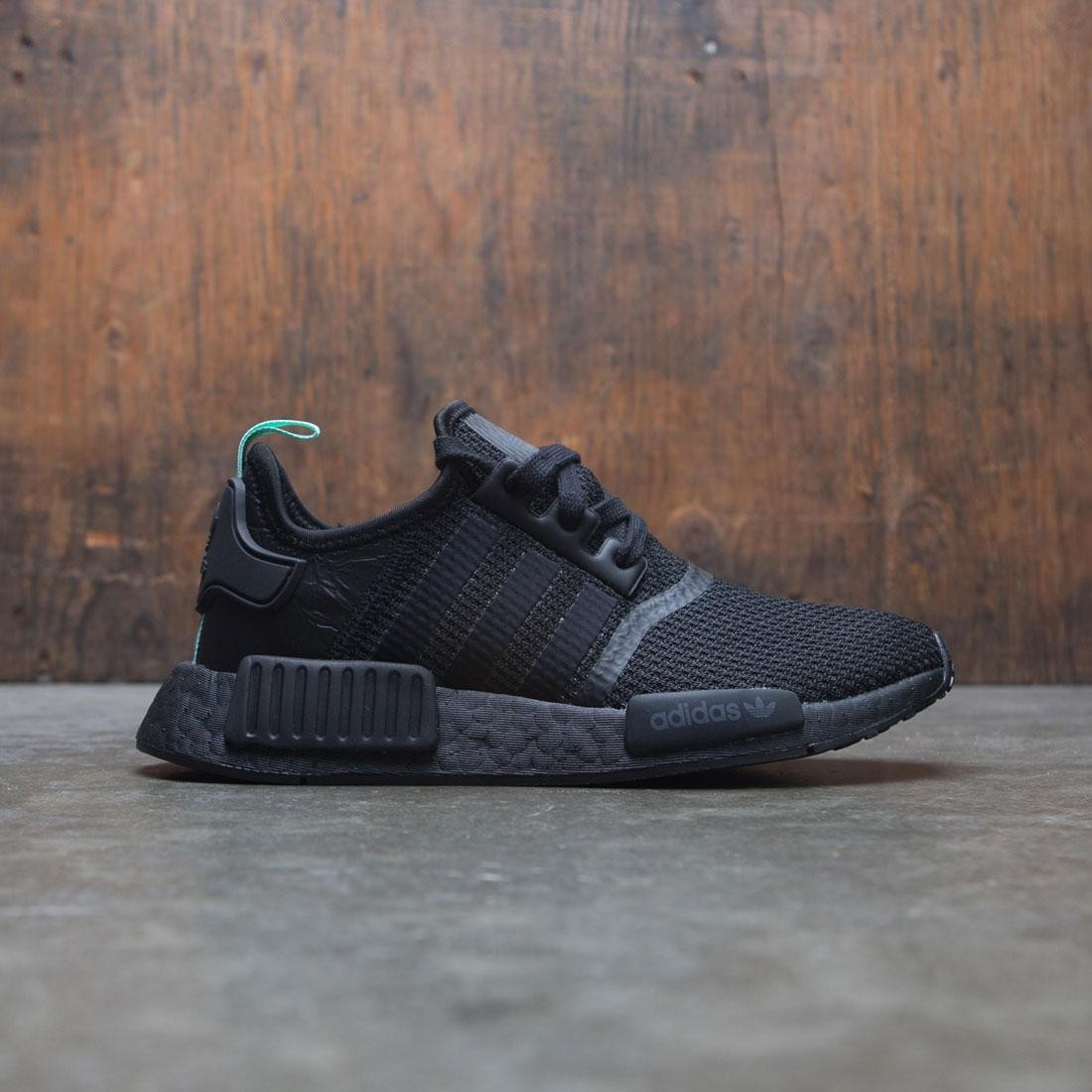 differently aa146 44cb8 Adidas Women NMD R1 W black core black clear mint