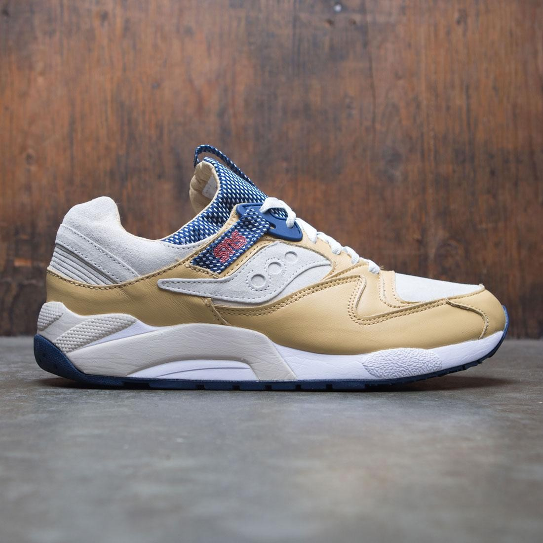 Saucony x SNS Men Grid 9000 - Business Class (tan / brown)