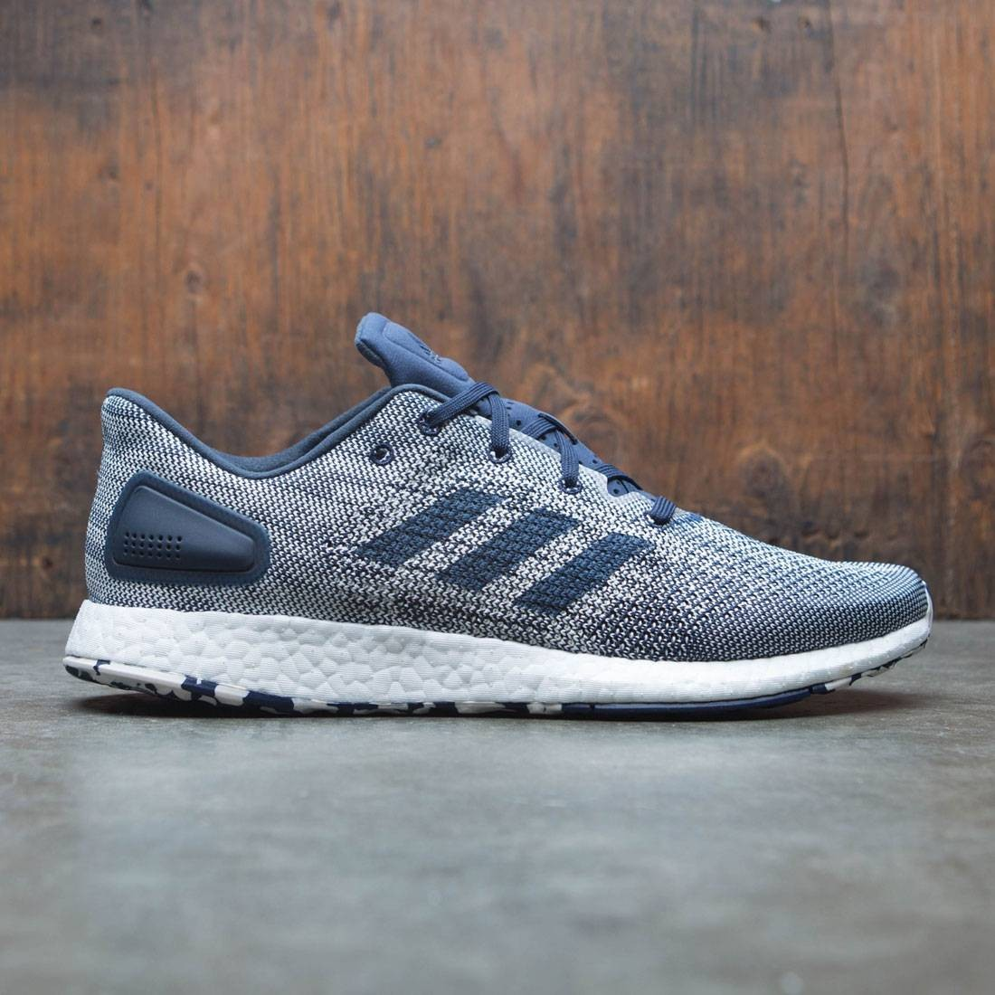 c799a32443f80 Adidas Men PureBOOST DPR blue night indigo chalk white