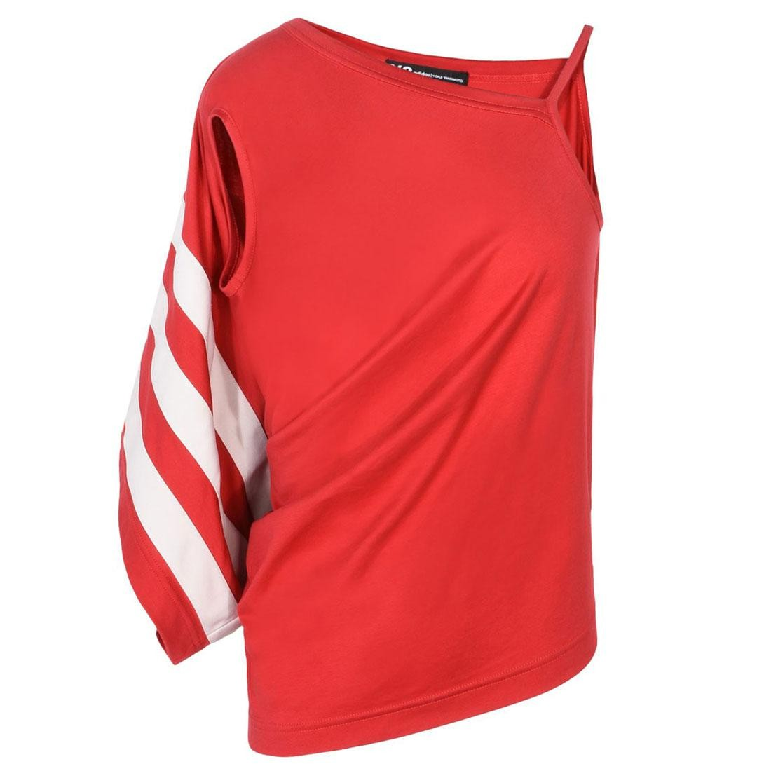 Adidas Y-3 Women Stripe Tank Top Int (red / chili pepper / undyed)