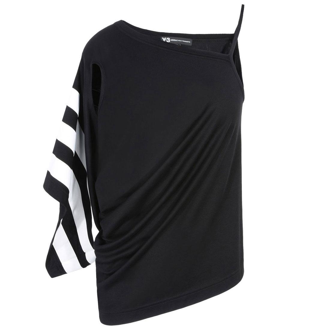 Adidas Y-3 Women Stripe Tank Top Int (black / white)