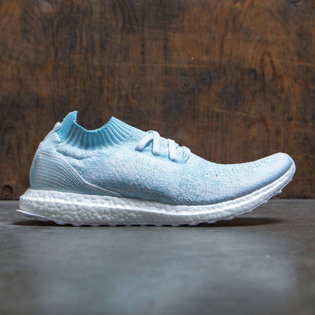 4fbc1bc1ca3 Adidas Men UltraBOOST Uncaged Parley blue icey blue footwear white