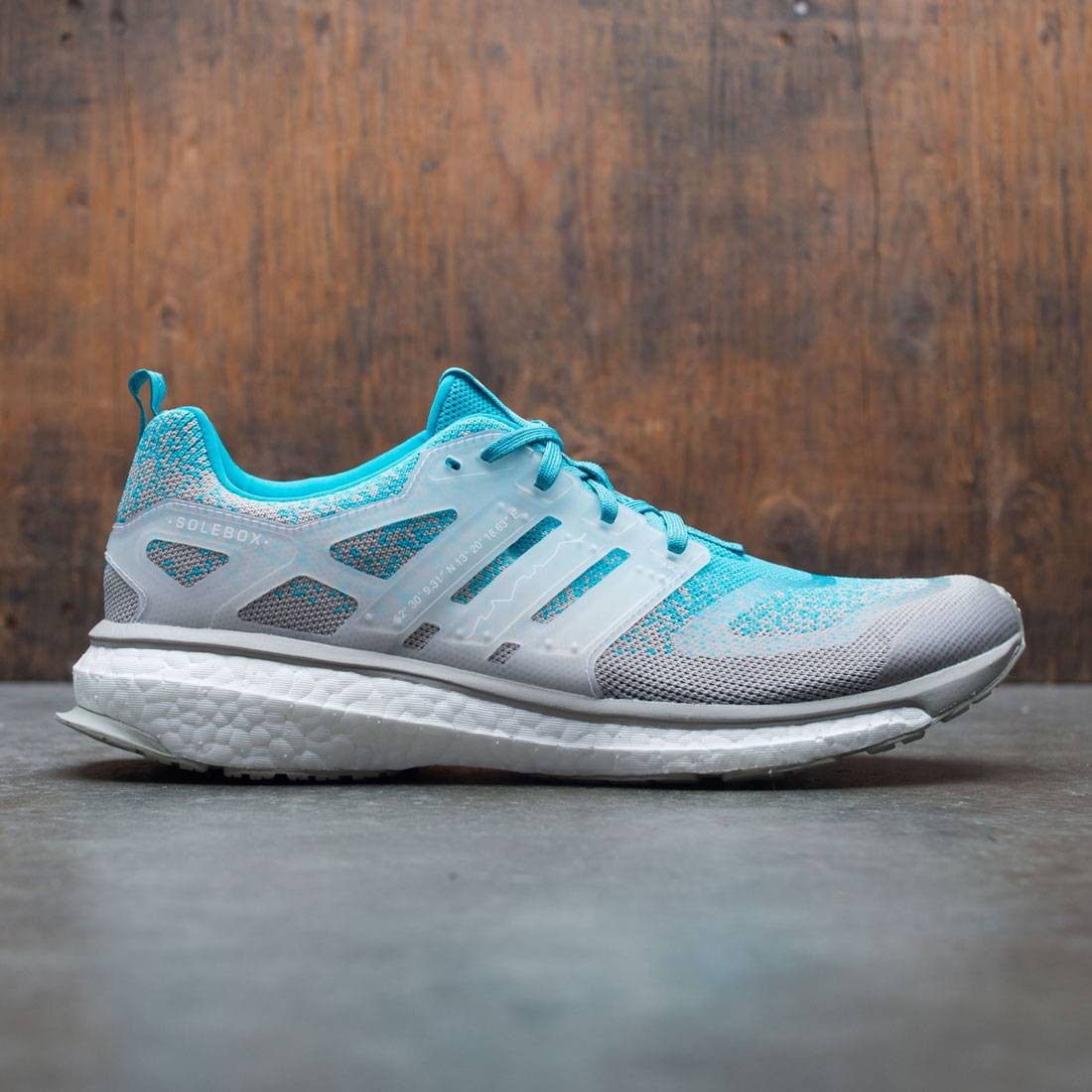 finest selection 85534 6eaee Adidas Consortium x Packer x Solebox Men Energy Boost Sneaker Exchange  (blue / energy blue / sesame / gum)