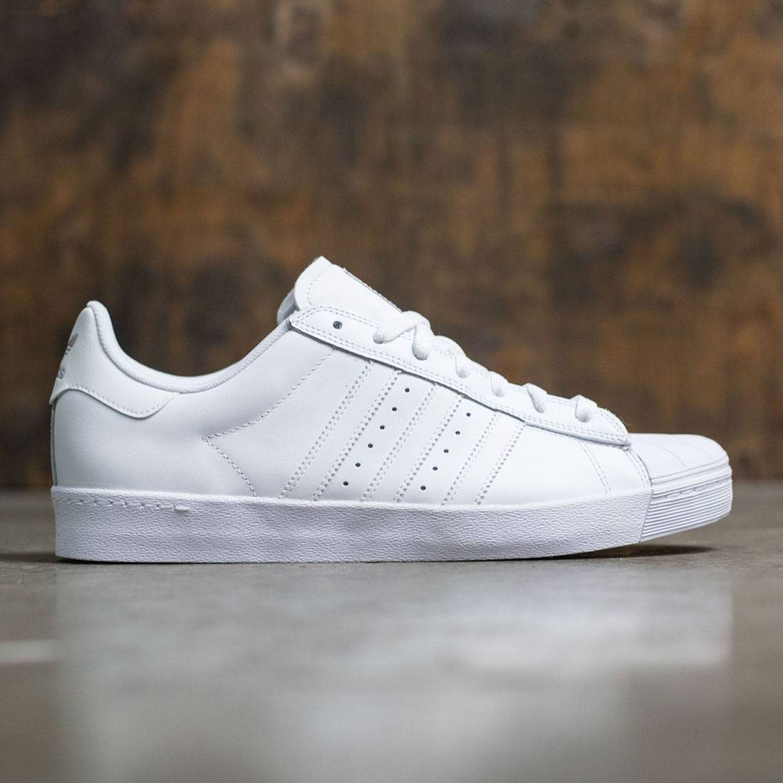 adidas superstar all white for men