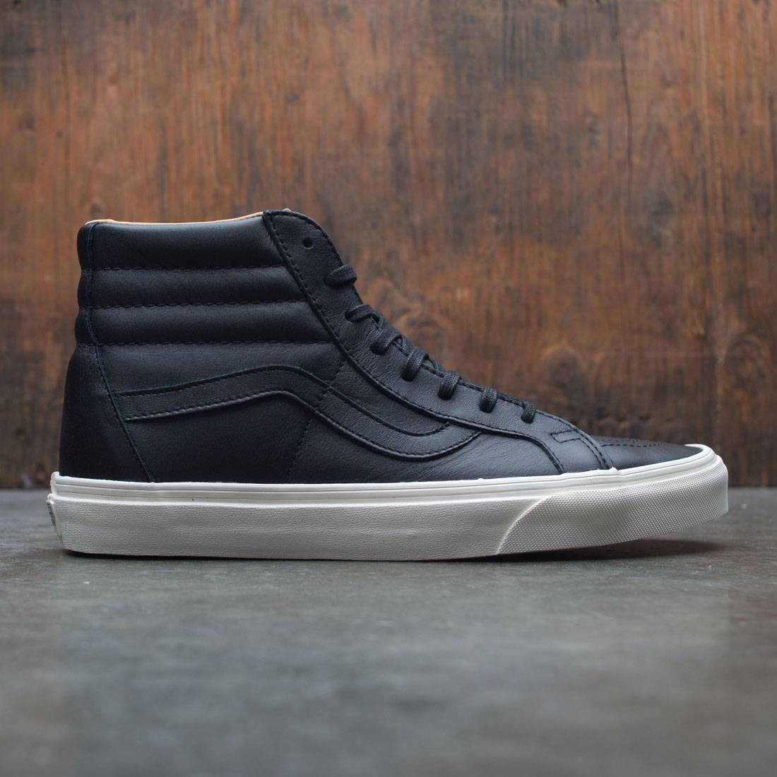 Vans Men SK8-Hi Reissue - Lux Leather (black / porcini)