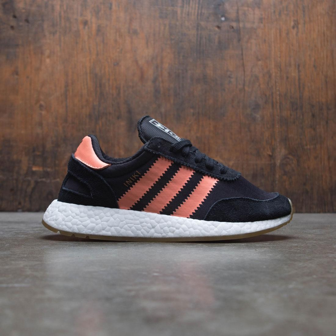 Adidas Women I-5923 (black / semi flash orange / gum)