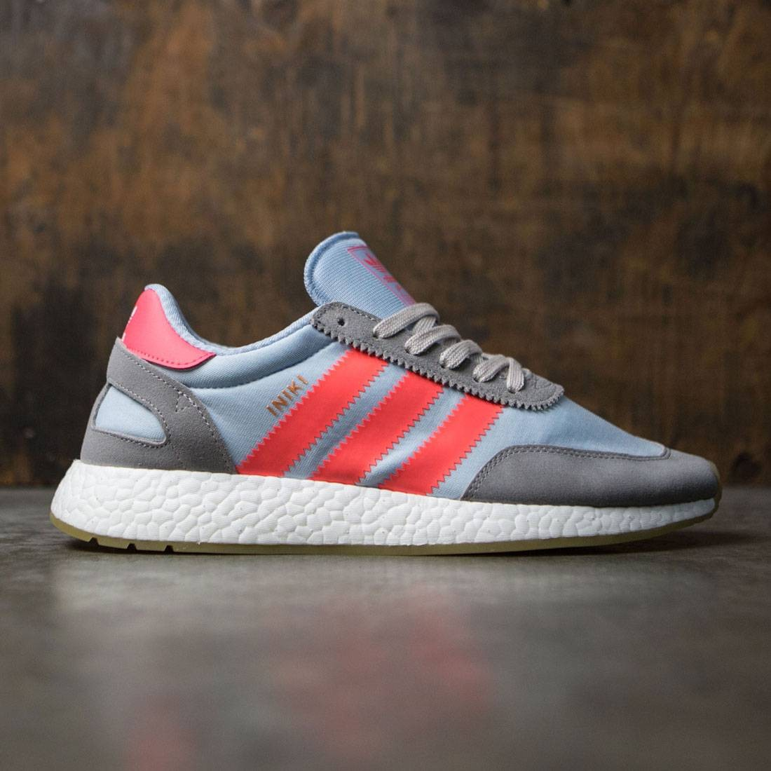 online store c1296 8db8c Adidas Men Iniki Runner gray charcoal solid grey turbo gum