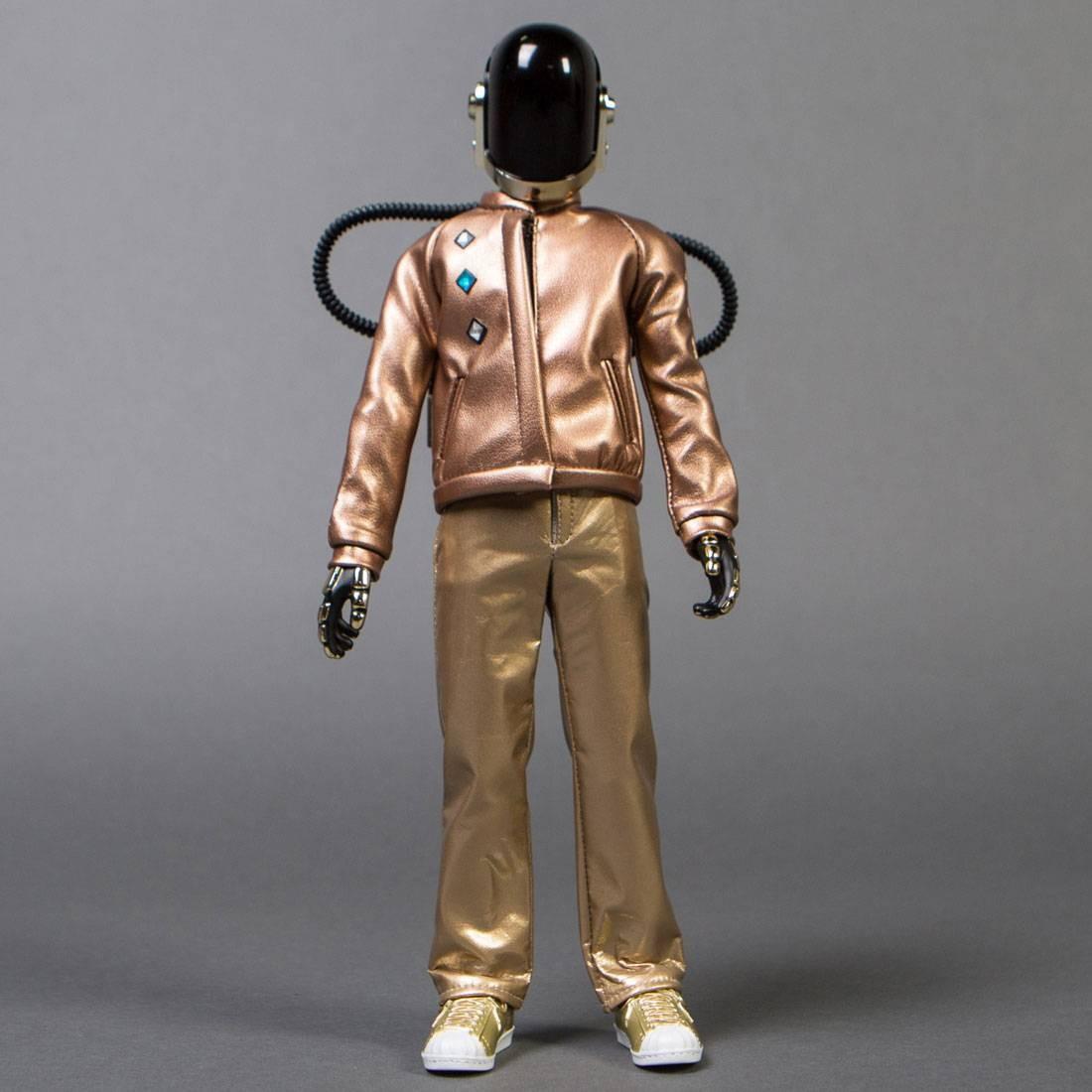 Medicom RAH Daft Punk Discovery Ver. 2.0 - Guy Manuel de Homem Christo Figure (bronze / gold)