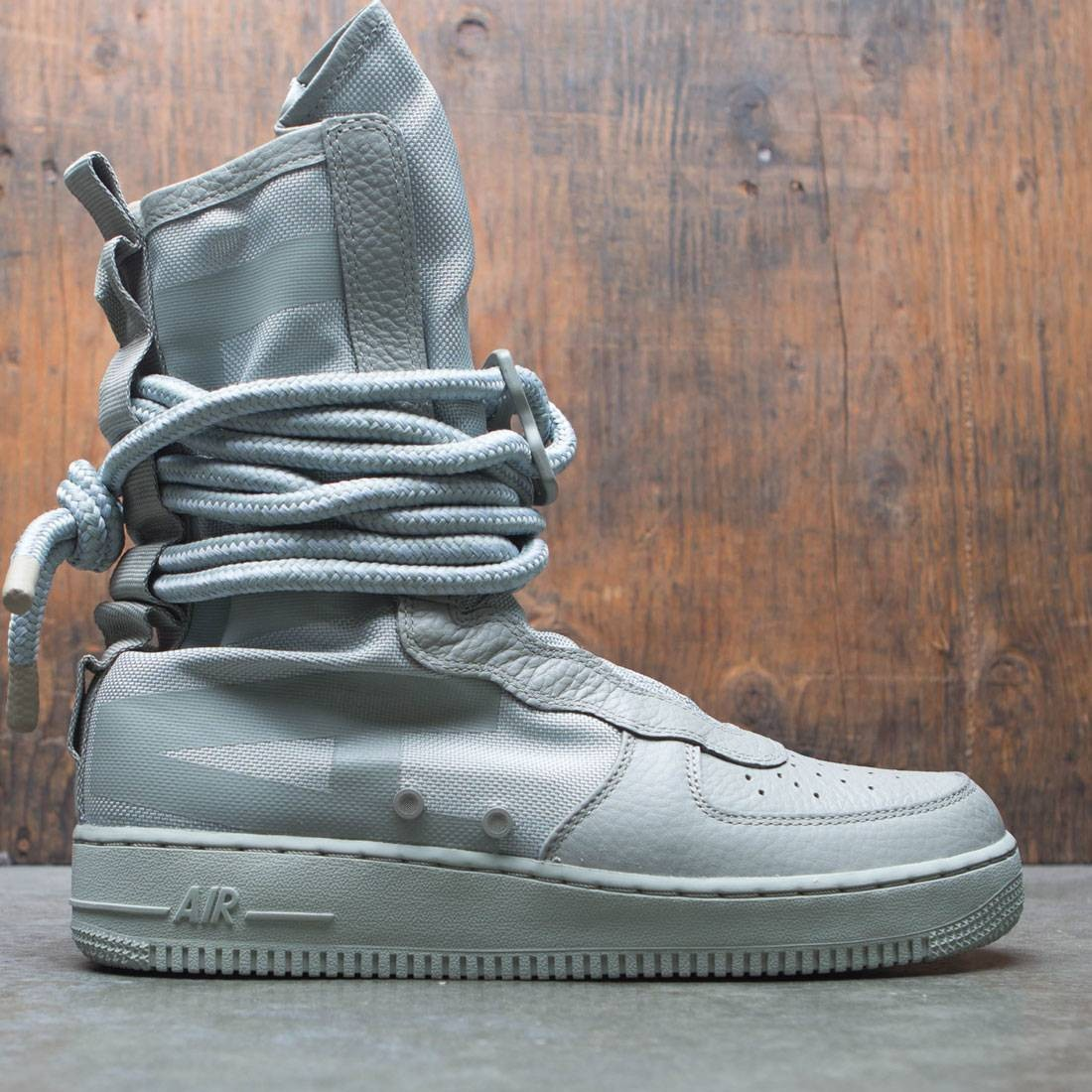 more photos 4e603 0f44d nike men sf air force 1 hi boot sage sage sage