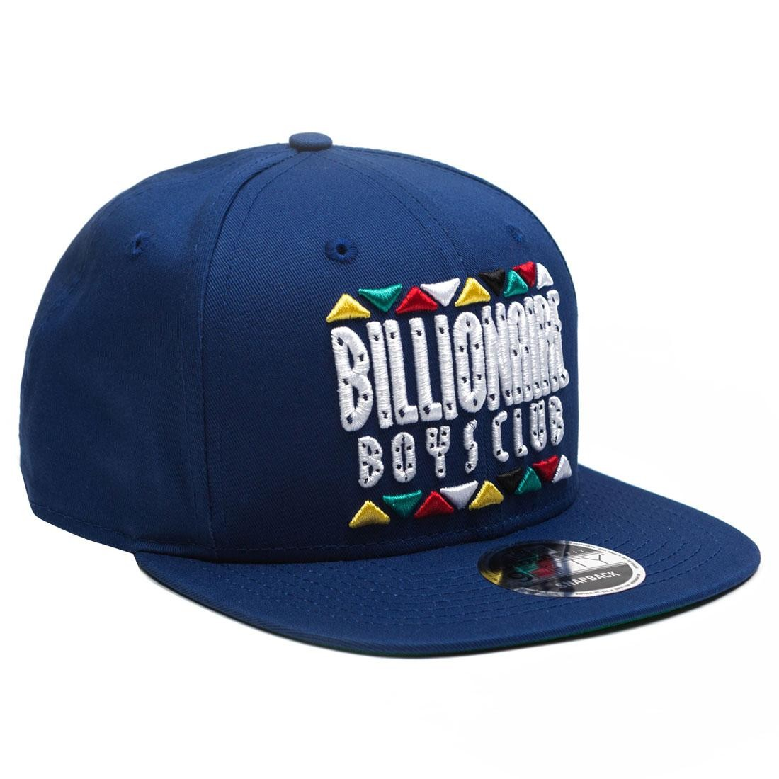 Billionaire Boys Club Block Snapback Cap (blue)