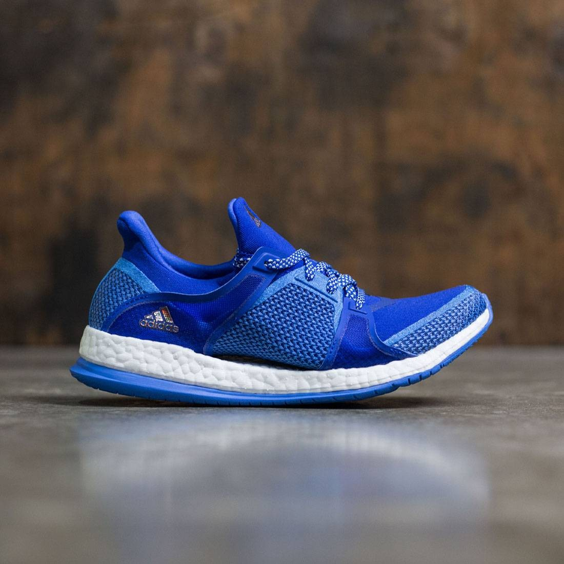 Adidas Women Pure Boost X Training (blue / bold blue / ray blue / vapour green)