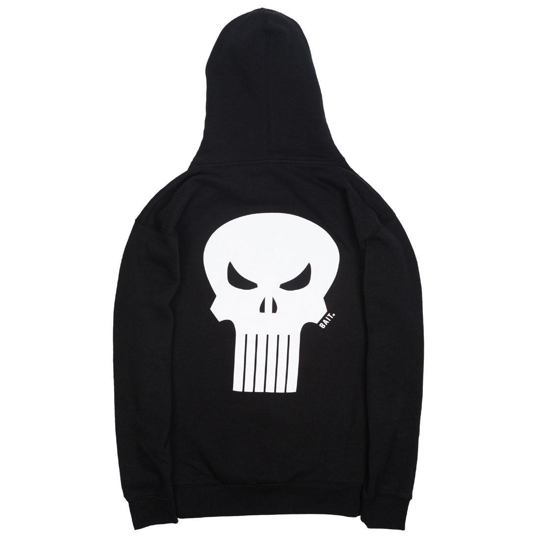 BAIT x Marvel Punisher Men Skull Hoody (black)