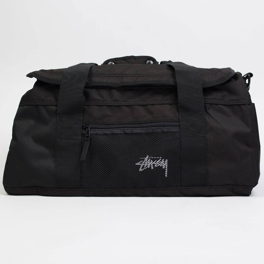 Stussy Stock Duffle Bag (black)