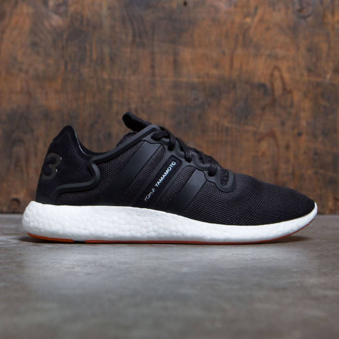 5ee4f910f35f7 Adidas Y-3 Men Yohji Run black core black footwear white