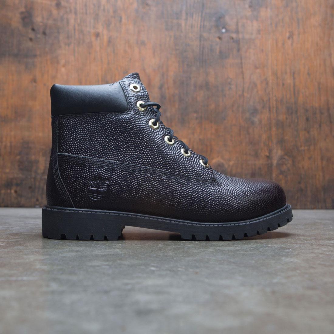 Timberland Big Kids 6 Inch Premium WPBT Boot (black / textured black)