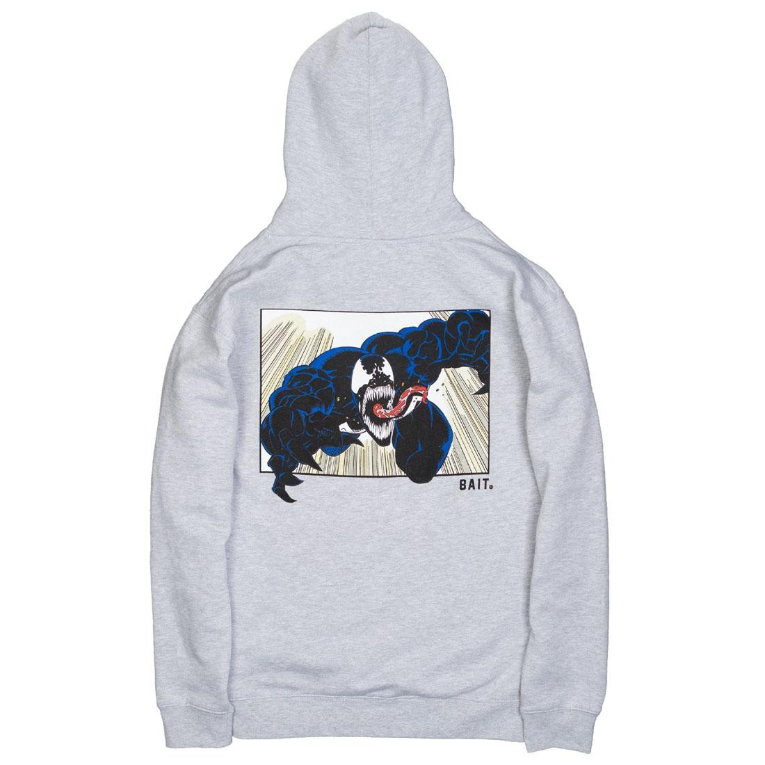 BAIT x Marvel Venom Men Comic Hoody (gray)