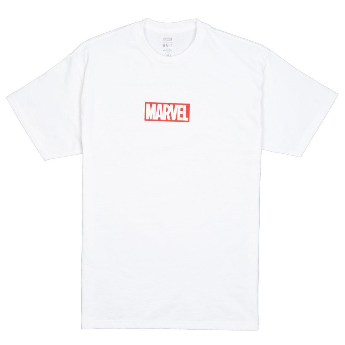 BAIT x Marvel Men Logo Tee (white)