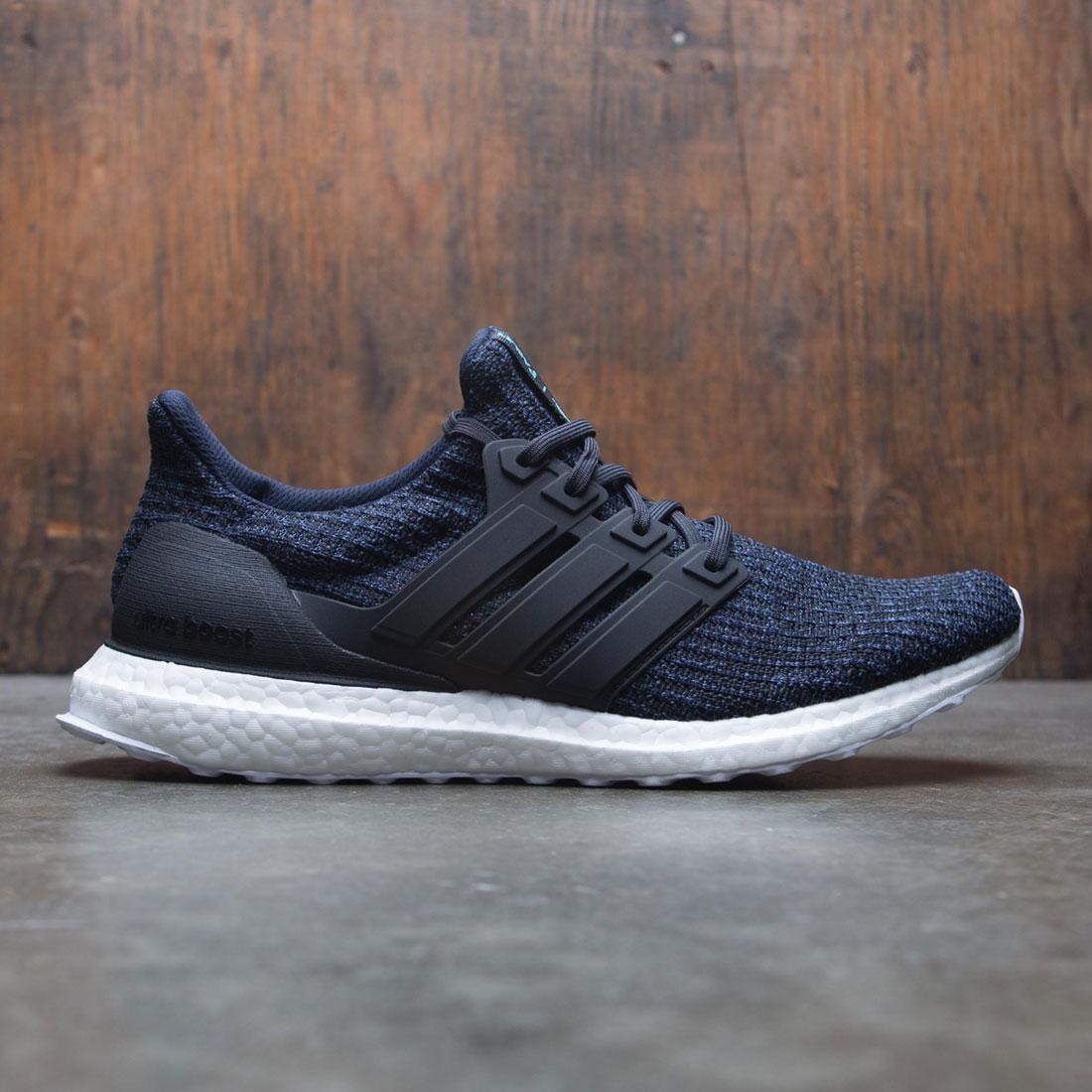 e11f5baf94c Adidas Men UltraBOOST Parley black legend ink carbon blue spirit