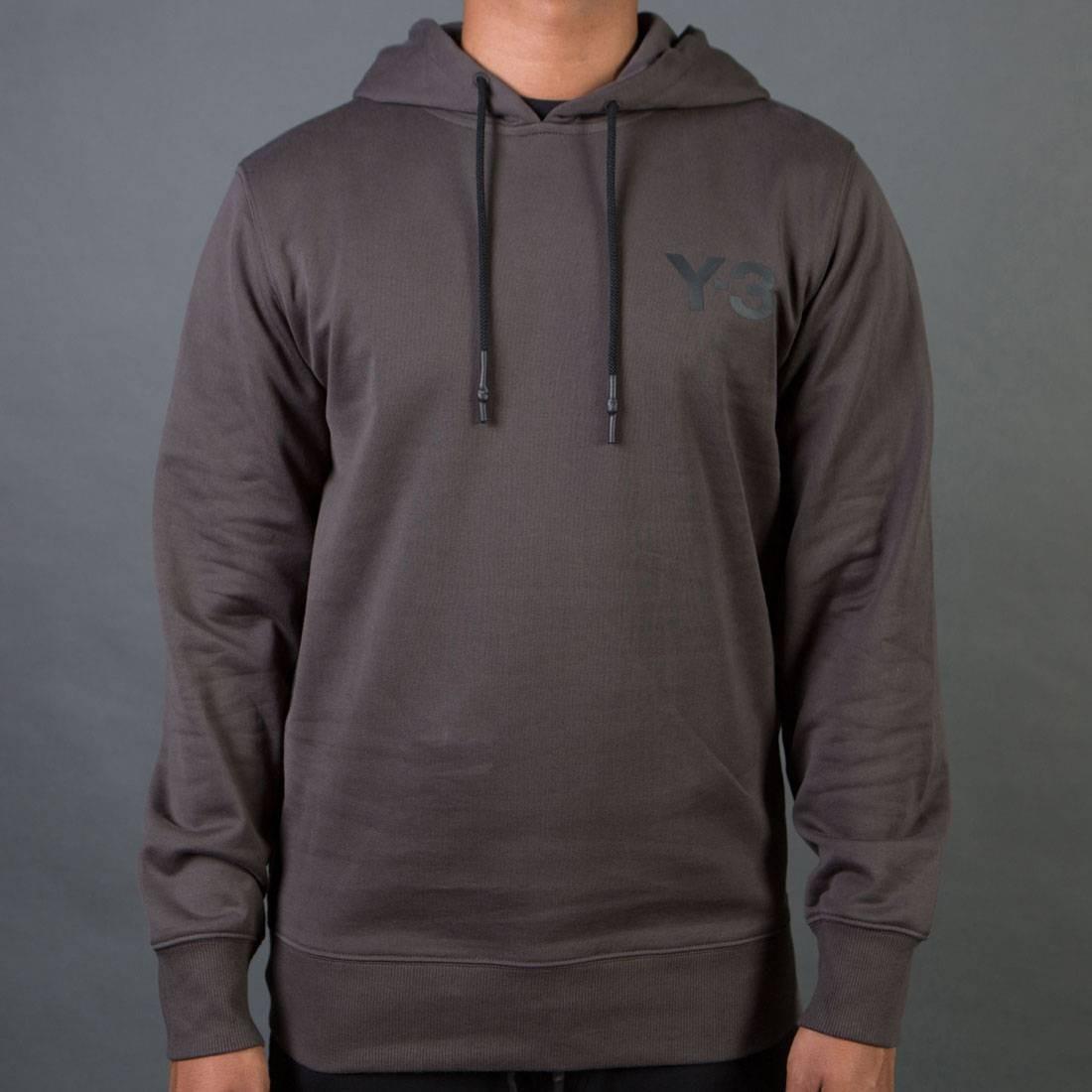 Adidas Y-3 Men Classic Sweat Hoodie (black / olive)
