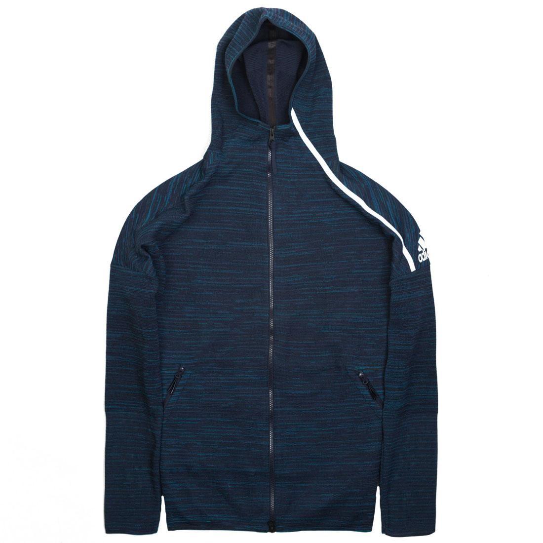 Adidas Men Z.N.E. Parley Hoodie (navy / legend ink)