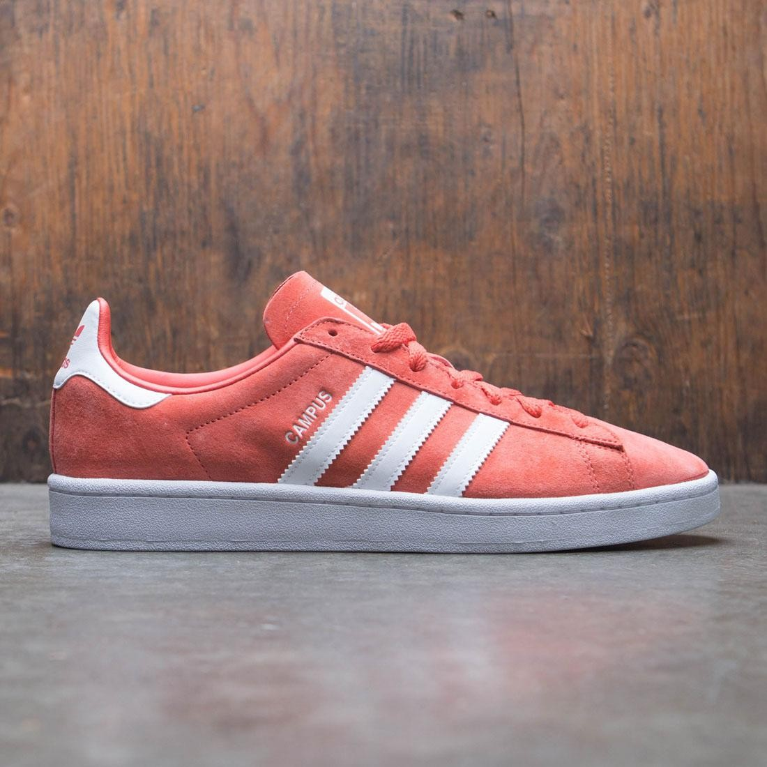 newest 55263 326c3 Adidas Men Campus red trace scarlet footwear white