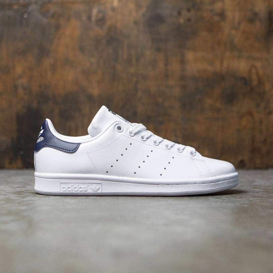 25451bd82ea2 Adidas Women Stan Smith white footwear white collegiate navy