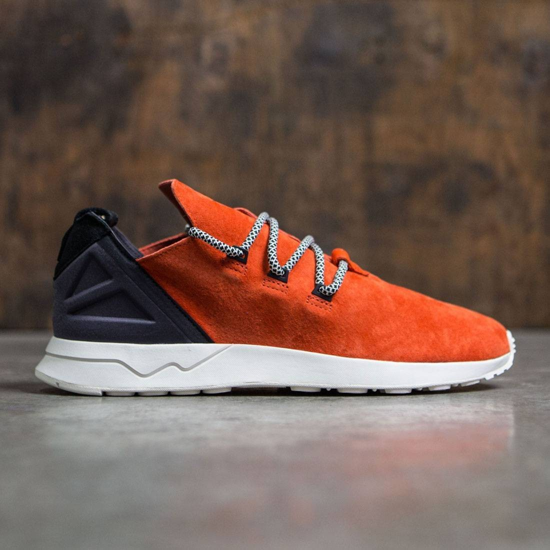 detailed look d1bec 988e9 Adidas Men ZX Flux ADV X (orange / crachi / core black)